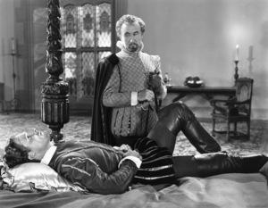 "Errol Flynn and Donald Crisp in ""The Private Lives of Elizabeth and Essex""1939 Warner Bros.** B.D.M. - Image 24293_1581"