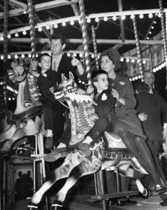 Christopher Wilding, Eddie Fisher, Michael Wilding, Jr. and Elizabeth Taylorcirca 1960** B.D.M. - Image 24293_1608