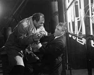 """George Kennedy and Cary Grant in """"Charade""""1963 Universal** B.D.M. - Image 24293_1627"""