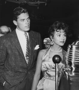 Jeffrey Hunter and Rita Moreno circa 1955** B.D.M. - Image 24293_1635