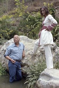 "George Kennedy and Sally Kellerman in ""Lost Horizon""1973 Columbia** B.D.M. - Image 24293_1637"