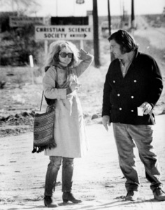 "Tuesday Weld and director Frank Perry on the set of ""Play It As It Lays""1972 Universal** B.D.M. - Image 24293_1653"