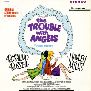 """LP cover for the soundtrack of """"The Trouble with Angels"""" by Jerry GoldsmithMainstream Records1966** B.D.M. - Image 24293_1682"""