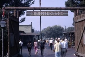 Frontierland at Disneyland in Anaheim, California1967** B.D.M. - Image 24293_1707