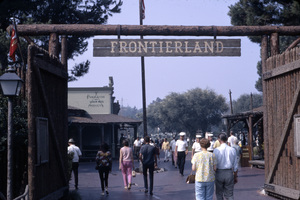 Frontierland at Disneyland in Anaheim, California1967** B.D.M. - Image 24293_1707