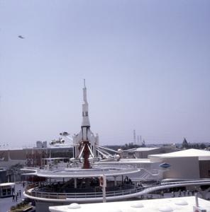 Yesterland Rocket Jets at Disneyland, Anaheim, California1968** B.D.M. - Image 24293_1722
