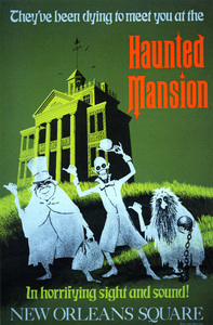 Disneyland Haunted Mansion poster** B.D.M. - Image 24293_1732