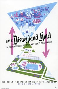 Disneyland Hotel poster** B.D.M. - Image 24293_1733