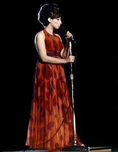 Barbra Streisand in concert in Central Park, New YorkJune 17, 1967** B.D.M. - Image 24293_1747