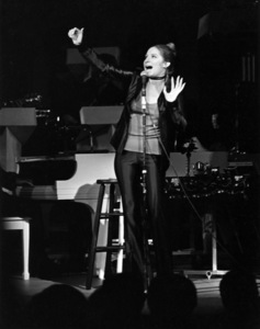 Barbra Streisand in concert at the Hilton Hotel, Las Vegas, Nevadacirca 1971** B.D.M. - Image 24293_1748