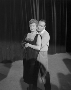 """Shelley Winters and Bob Hope on """"The Bob Hope Show""""1957Photo by Frank Carroll** B.D.M. - Image 24293_1821"""