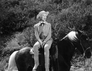 "Doris Day singing ""Secret Love"" in ""Calamity Jane""1953 Warner Bros.** B.D.M. - Image 24293_1830"