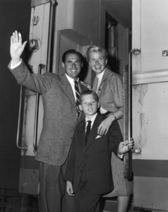 Marty Melcher, Doris Day and their son Terry Melchercirca 1954** B.D.M. - Image 24293_1837
