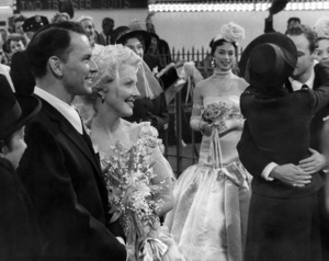 "Frank Sinatra, Vivian Blaine, Jean Simmons and Marlon Brando in ""Guys and Dolls"" 1955 MGM / Samuel Goldwyn ** B.D.M."