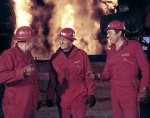 "John Wayne and Edward Faulkner in ""Hellfighters""1968 Universal** B.D.M. - Image 24293_1896"