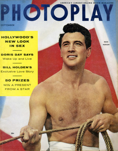 Rock Hudson on the cover of PhotoplaySeptember 1954** B.D.M. - Image 24293_1903