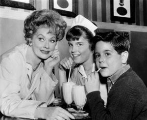 Lucille Ball, Lucie Arnaz and Desi Arnaz Jr.circa 1961** B.D.M. - Image 24293_1926
