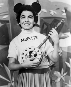 """Annette Funicello on """"The Mickey Mouse Club""""1955** B.D.M. - Image 24293_1939"""