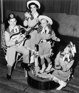 "Bobby Burgess, Annette Funicello, Karen Pendleton and Cheryl Holdridge on ""The Mickey Mouse Club""1955** B.D.M. - Image 24293_1940"