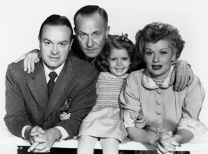 "Bob Hope, William Demarest, Mary Jane Saunders and Lucille Ball in ""Sorrowful Jones""1949 Paramount** B.D.M. - Image 24293_1948"