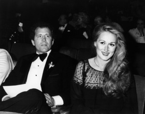 "Don Gummer and Meryl Streep at ""The 52nd Annual Academy Awards"" ceremony at the Dorothy Chandler Pavilion April 9, 1979  ** B.D.M."