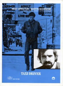 """Oscar consideration ad for Martin Scorsese as Best Director for """"Taxi Driver""""1976 Columbia** B.D.M. - Image 24293_1978"""