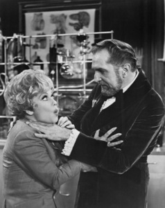 """Lucille Ball and Vincent Price in """"Here"""