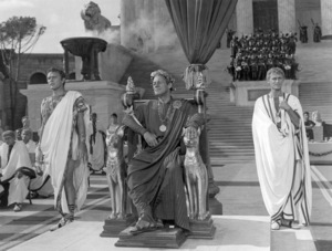"Richard Burton, Rex Harrison and Roddy McDowall in ""Cleopatra""1963 20th Century-Fox** B.D.M. - Image 24293_2002"