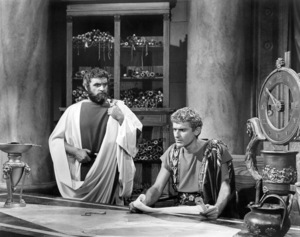 "Roddy McDowall (right) in ""Cleopatra""1963 20th Century-Fox** B.D.M. - Image 24293_2003"