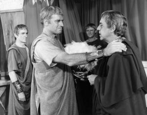 "Charlton Heston and Eric Porter in ""Antony and Cleopatra""1972 J. Arthur Rank Film Distributors** B.D.M. - Image 24293_2066"