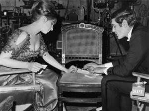 "Barbra Streisand and Omar Sharif on the set of ""Funny Girl""1968 Columbia** B.D.M. - Image 24293_2104"
