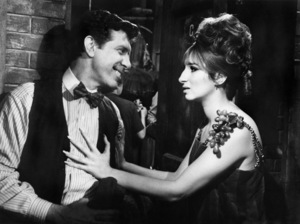 "Lee Allen and Barbra Streisand in ""Funny Girl""1968 Columbia** B.D.M. - Image 24293_2121"