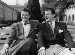 """Dennis Morgan and Jack Carson in """"It"""
