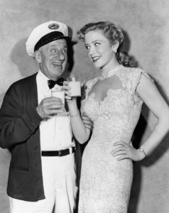 "Jimmy Durante and Joyce Holden in ""The Milkman""1950 Universal** B.D.M. - Image 24293_2165"