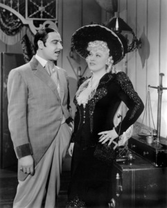 "Joseph Calleia and Mae West in ""My Little Chickadee""1940 Universal** B.D.M. - Image 24293_2173"