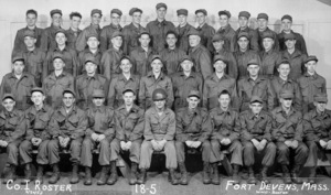 Servicemen at Fort Devens, Massachusetts, United States Army Reserve1953** B.D.M. - Image 24293_2218