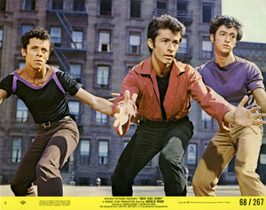 "Jay Norman, George Chakiris and Eddie Verso in ""West Side Story""1961 United Artists** B.D.M. - Image 24293_2281"