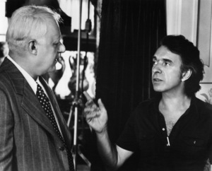 "Rod Steiger and Arthur Hiller on the set of ""W.C. Fields and Me""1976 Universal** B.D.M. - Image 24293_2384"