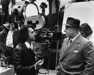 """Arthur Hiller and Rod Steiger on the set of """"W.C. Fields and Me""""1976 Universal** B.D.M. - Image 24293_2385"""