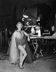 """Zsa Zsa Gabor on the set of """"3 Ring Circus"""" photographed in Vista Vision1954 Paramount** B.D.M. - Image 24293_2500"""