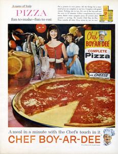 Chef Boy-Ar-Dee print ad1961** B.D.M. - Image 24293_2503