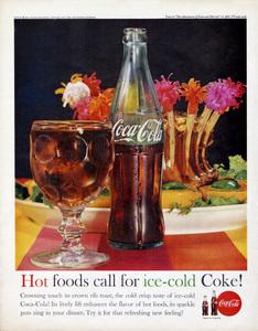 Coca-Cola print ad1961** B.D.M. - Image 24293_2505
