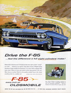Oldsmobile print ad1961** B.D.M. - Image 24293_2511