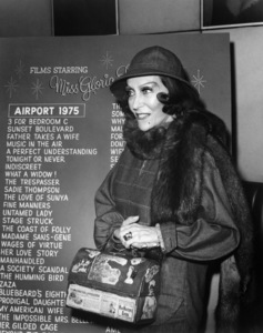 """Gloria Swanson attends a special party in her honor at the start of filming """"Airport 1975""""1974 Universal** B.D.M. - Image 24293_2517"""