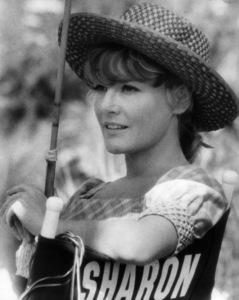"Petula Clark on the set of ""Finian"