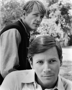 """Nick Nolte and Peter Strauss in """"Rich Man, Poor Man""""1976 ABC** B.D.M. - Image 24293_2523"""
