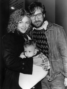Amy Irving, Steven Spielberg and Max Spielbergcirca 1986** B.D.M. - Image 24293_2529