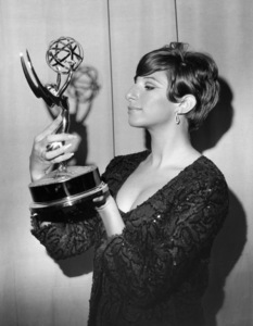 """Barbra Streisand wins an award for """"My Name is Barbra"""" at the 17th Annual Emmy Awards September 12, 1965** B.D.M. - Image 24293_2544"""