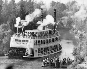 The Mark Twain Riverboat in Disneylandcirca 1975** B.D.M. - Image 24293_2553
