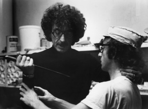 """Herbert Ross and writer Woody Allen on the set of """"Play It Again, Sam""""1972 Paramount** B.D.M. - Image 24293_2561"""